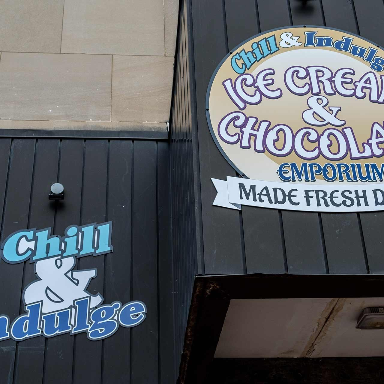 Chill and Indulge Downtown Akron Location
